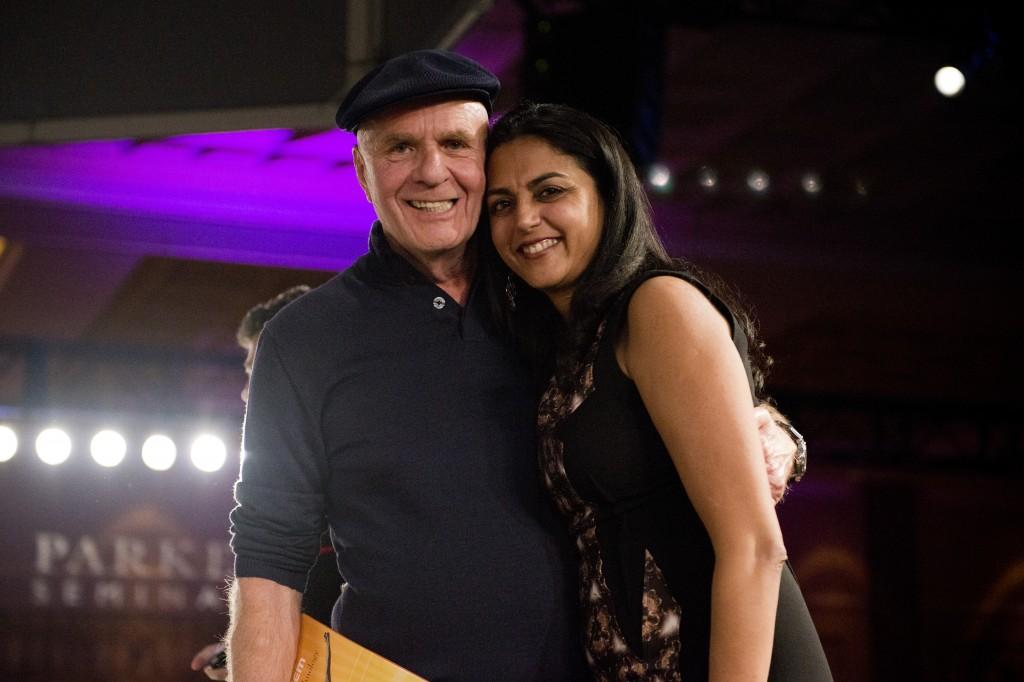 Neha & Dr.Wayne Dyer