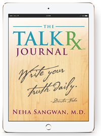 Talk Rx Journal in iPad